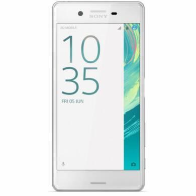Sony Xperia X Performance F8131 Single SIM, fehér, kártyafüggetlen, 1 év gyártói garancia