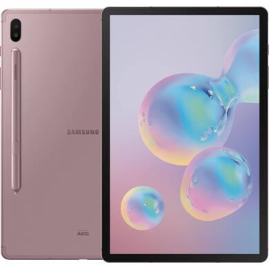 Samsung Galaxy Tab S6 T860 10.5 128GB Wifi rózsaszín, 1 év gyártói garancia