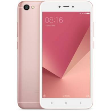 Xiaomi Redmi Note 5A DualSim 2/16GB B20 (EU) - rózsaszín - 1 év Garancia