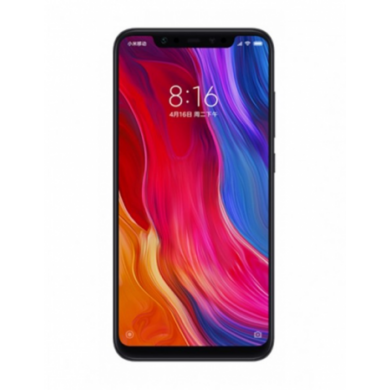 Xiaomi Mi 8 4GB 64GB Dual SIM (B20), fekete, Kártyafüggetlen, 1 év teljes körű garancia