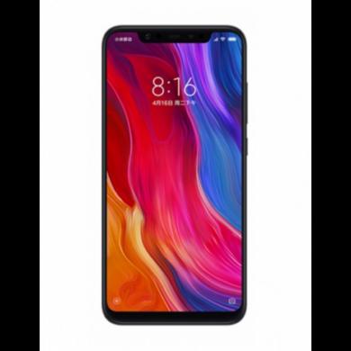 Xiaomi Mi 8, Dual SIM (B20), 6GB 64GB , fekete, Kártyafüggetlen, 1 év teljes körű garancia