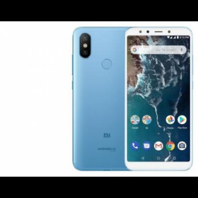 Xiaomi Mi A2 4GB 32GB Dual SIM (B20), kék, Kártyafüggetlen, 1 év teljes körű garancia