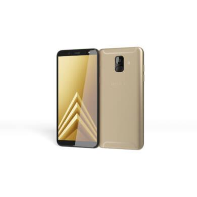 Samsung A600 Galaxy A6 (2018) 32GB, arany, Kártyafüggetlen, 1 év Gyártói garancia