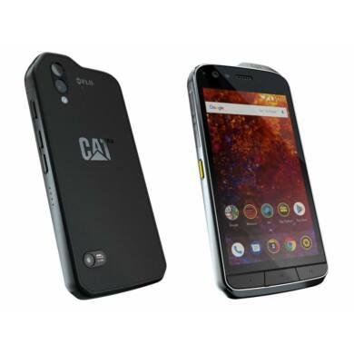 Caterpillar S61 64GB Dual SIM, fekete, Kártyafüggetlen, Gyártói garancia