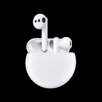 Huawei Freebuds 3, vezeték nélküli fülhallgató, fehér, 1 év gyártói garancia