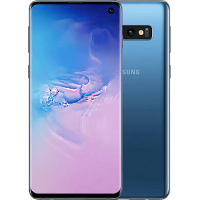 Samsung G973F Galaxy S10 128GB Dual Sim, kék, Kártyafüggetlen, 1 év Gyártói garancia