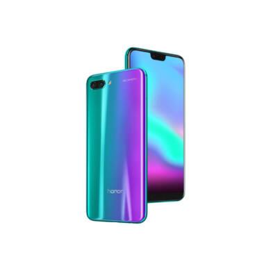 Honor 10 64GB Dual SIM, zöld, Kártyafüggetlen, Gyártói garancia