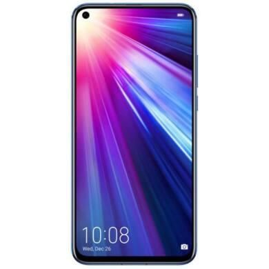 Honor View 20 128GB Dual SIM, kék, Kártyafüggetlen, 2 év Gyártói garancia