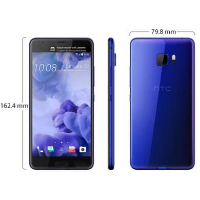 HTC U Ultra 64 GB, kék, kártyafüggetlen, 1 év gyártói garancia