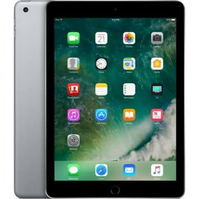 Apple iPad 9.7 (2017) 128GB LTE asztroszürke, 1 év Gyártói garancia