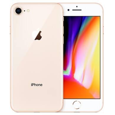 Apple iPhone 8 128GB arany, Kártyafüggetlen, 1 év Gyártói garancia