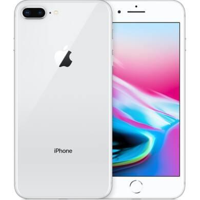 Apple iPhone 8 Plus 128GB ezüst, Kártyafüggetlen, 1 év Gyártói garancia