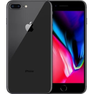 Apple iPhone 8 Plus 64GB asztroszürke, Kártyafüggetlen, 1 év Gyártói garancia
