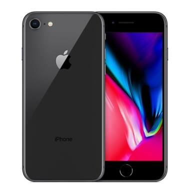 Apple iPhone 8 256GB asztroszürke, Kártyafüggetlen, 1 év Gyártói garancia