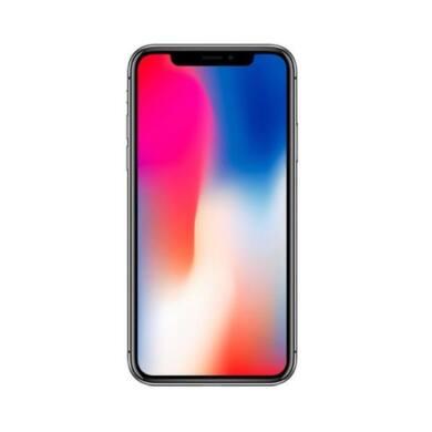 Apple iPhone X 256GB asztroszürke, Kártyafüggetlen, 1 év Gyártói garancia