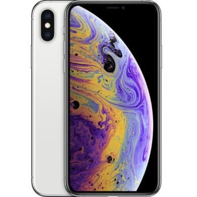 Apple iPhone XS Max 512GB ezüst, Kártyafüggetlen, 1 év Gyártói garancia