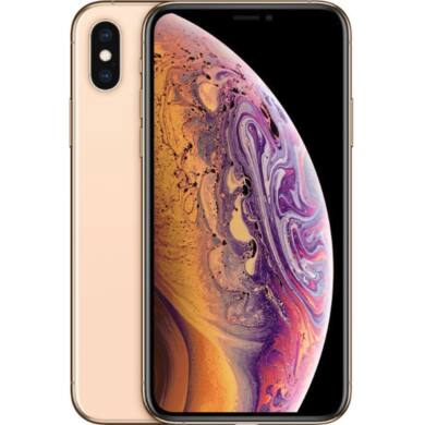 Apple iPhone XS 512GB arany, Kártyafüggetlen, 1 év Gyártói garancia