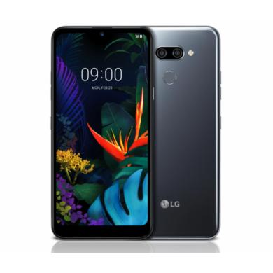 LG K50 Dual Sim 32GB fekete, kártyafüggetlen, 1 év gyártói garancia