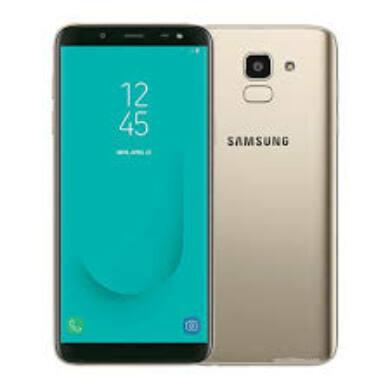 Samsung J600F Galaxy J6 (2018) 32GB, arany, Kártyafüggetlen, 1 év Gyártói garancia