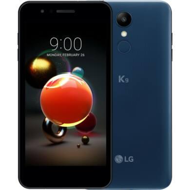 LG K9 (2018) LMX210 16GB Dual SIM,  kék , Kártyafüggetlen, 1 év Gyártói garancia