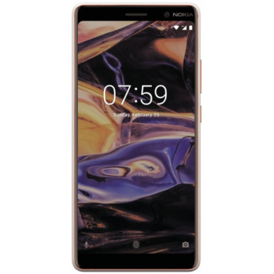 Nokia 7 Plus Dual SIM, fehér, Kártyafüggetlen, 1 év teljes körű garancia