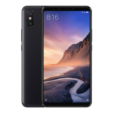 Xiaomi Mi Max 3 4GB 64GB Dual SIM (B20), fekete, Kártyafüggetlen, 1 év garancia