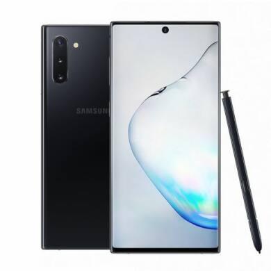 Samsung Galaxy Note 10 N970 Dual SIM, 256GB, fekete, Kártyafüggetlen, 1 év Gyártói garancia