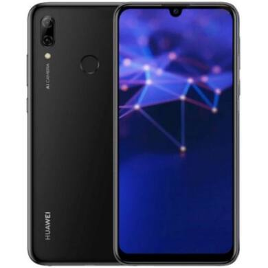 Huawei P Smart (2019) 64 GB, Dual SIM, fekete, Kártyafüggetlen, 2 év gyártói garancia