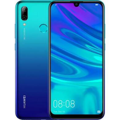 Huawei P Smart (2019) 64 GB, Dual SIM, kék, Kártyafüggetlen, 2 év gyártói garancia