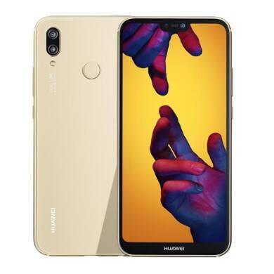 Huawei P20 Lite 64GB Dual SIM, arany, Kártyafüggetlen,2 év  Gyártói garancia