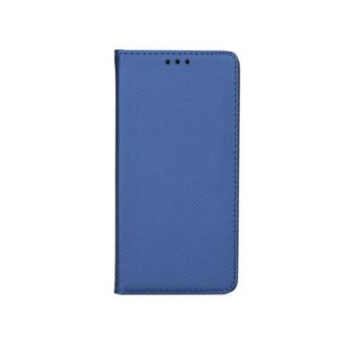 Magnet oldalra nyíló flip tok, Huawei P30, kék