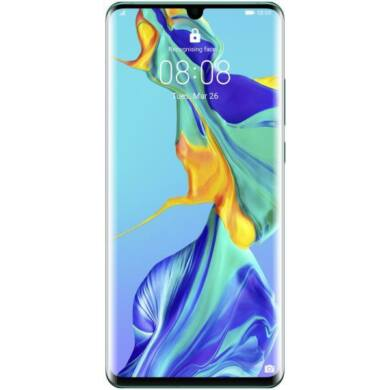 Huawei P30 Pro 128GB Dual SIM, fekete, Kártyafüggetlen, 2 év Gyártói garancia