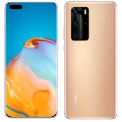 Huawei P40 Pro 256GB  Dual SIM, arany, Kártyafüggetlen, 2 év Gyártói garancia