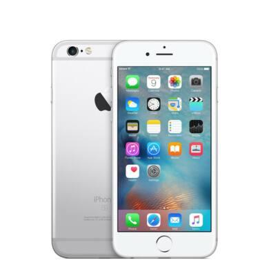 Apple iPhone 6S 32GB ezüst, Kártyafüggetlen, 1 év Gyártói garancia