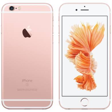 Apple iPhone 6S Plus 128GB roséarany, Kártyafüggetlen, 1 év Gyártói garancia