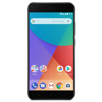 Xiaomi Mi A1 4GB 32GB Dual SIM (B20), fekete, Kártyafüggetlen, 1 év teljes körű garancia