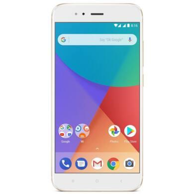 Xiaomi Mi A1 4GB 32GB Dual SIM (B20), arany, Kártyafüggetlen, 1 év teljes körű garancia