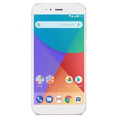 Xiaomi Mi A1 4GB 64GB Dual SIM (B20), roséarany, Kártyafüggetlen, 1 év teljes körű garancia