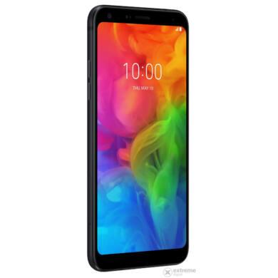 LG Q7 LMQ610 32GB Dual SIM, fekete, Kártyafüggetlen, 1 év Gyártói garancia