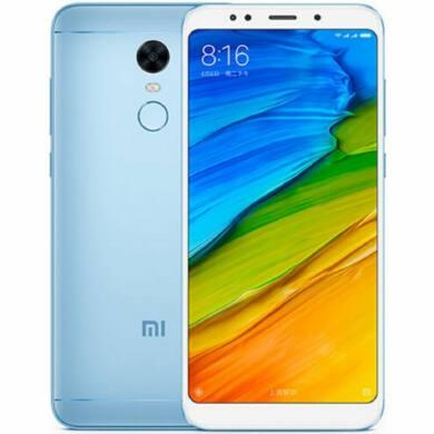 Xiaomi Redmi Note 5 (2018) 4GB 64GB Dual SIM (B20), kék, Kártyafüggetlen, 1 év Gyártói garancia
