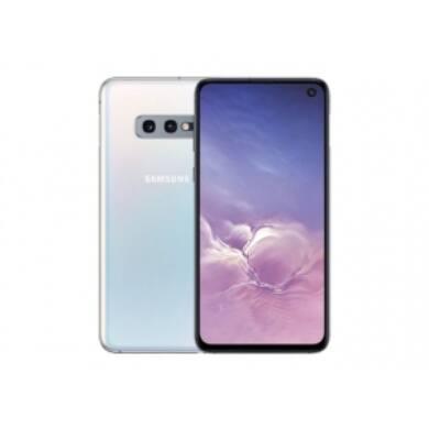 Samsung G970F Galaxy S10e 128GB Dual Sim, fehér, Kártyafüggetlen, 1 év Gyártói garancia