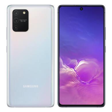 Samsung G770F Galaxy S10 Lite 128GB Dual Sim, fehér, Kártyafüggetlen, 1 év Gyártói garancia