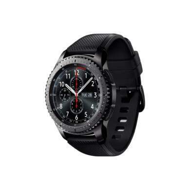 Samsung R760 Gear S3 Frontier, fekete, 1 Év Gyártói garancia