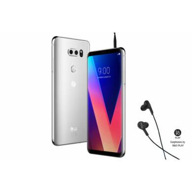 LG V30 H930 64GB, ezüst Kártyafüggetlen, 1 év Gyártói garancia