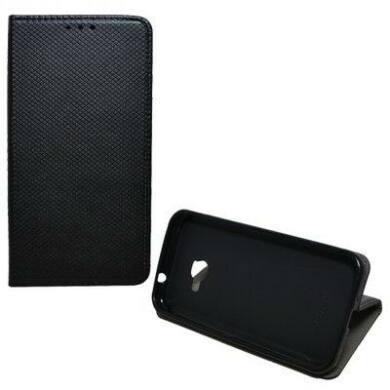 Magnet oldalra nyíló flip tok, Huawei P20 lite, fekete