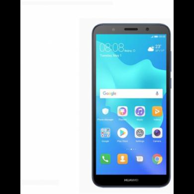 Huawei Y5 (2018) 16GB Dual SIM, kék, Kártyafüggetlen,2 év  Gyártói garancia