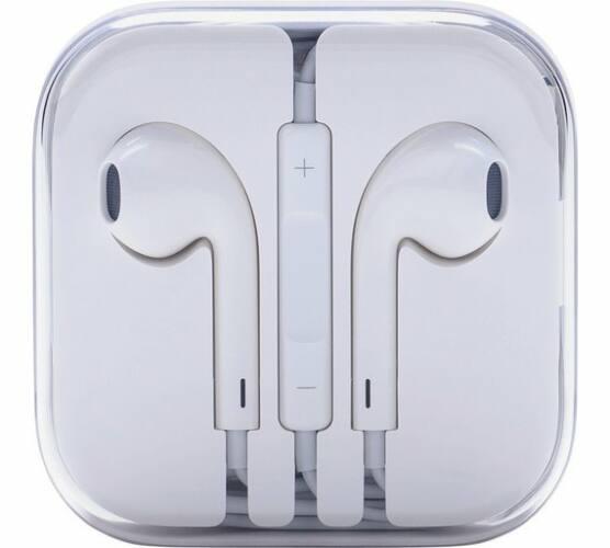 Apple Earpods gyári, bontatlan csomagolású headset 3.5mm jack, fehér (MD827ZM/A)